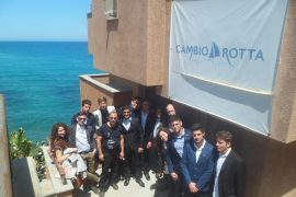 Students of the institute Paolo Borsellino protagonist of Cambio Rotta