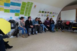 The first training of the project FATI in Cornwall
