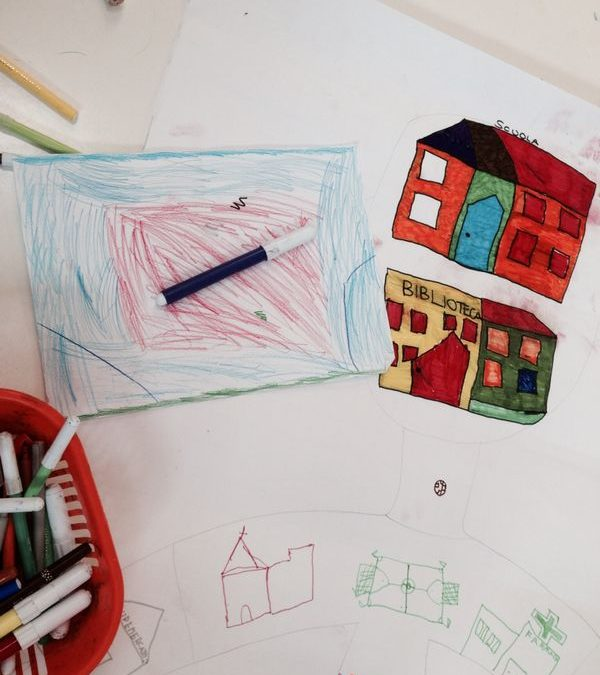 CAREM: collaborative art making for children rights and conflicts resolution