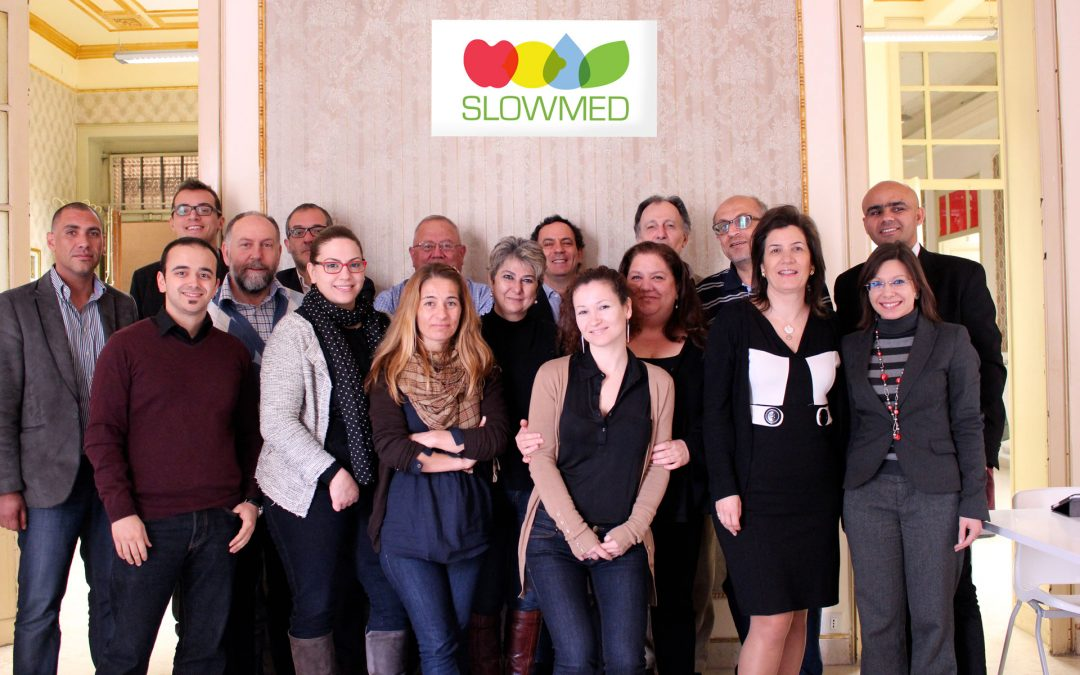 SlowMed kick off meeting: Mediterranean diet as a tool for dialogue