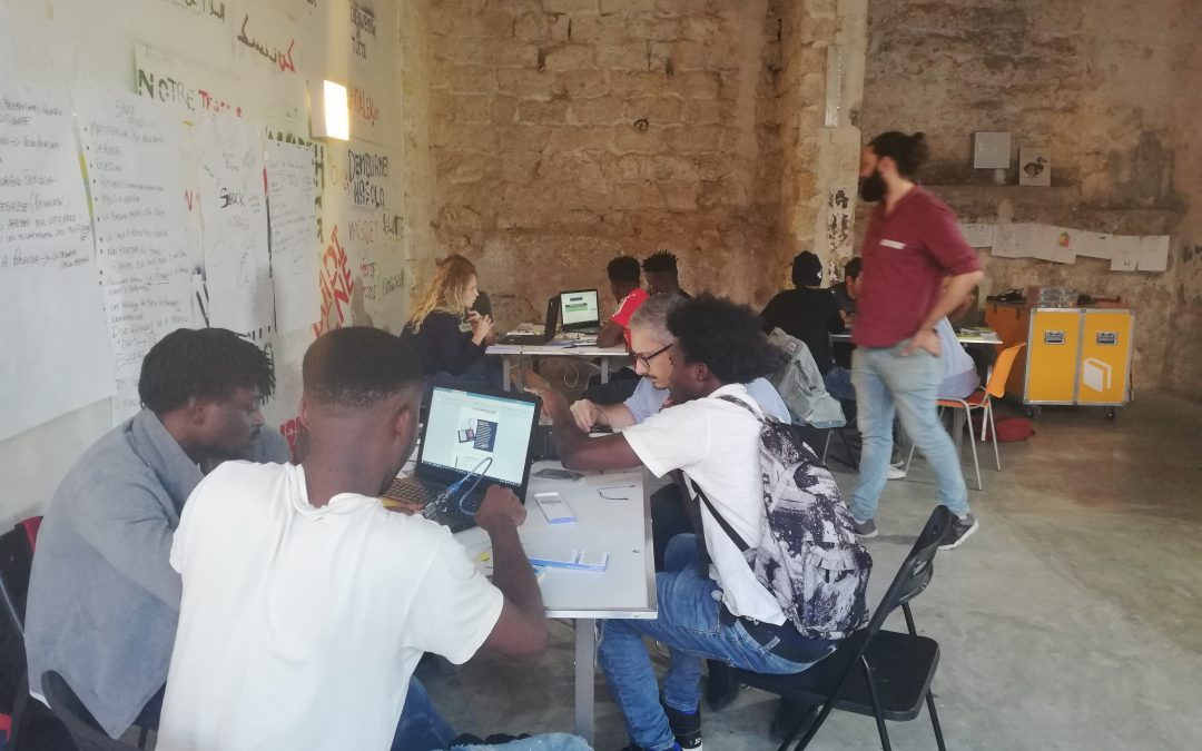 E-DESIGN: FIRST COURSE OF THE ICT-TRAINING HOTSPOT HAS FINISHED