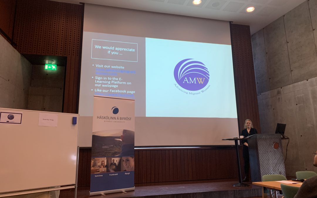 AMW: final meeting and conference in Bifröst, Iceland