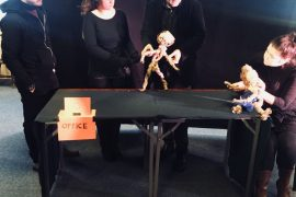 Create a Puppet, Create yourself: workshop in Glasgow on the creation of puppets for social inclusion