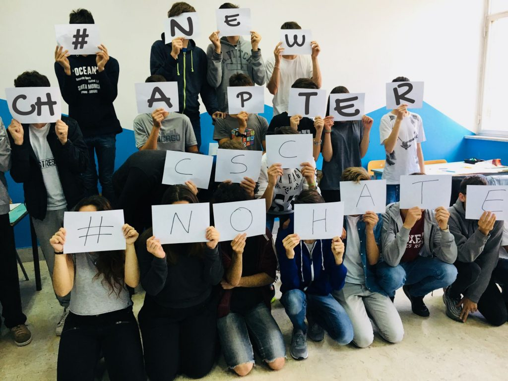 New Chapter: Classroom Activities to fight against hate speech online